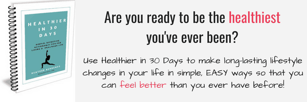 Healthier in 30 days banner
