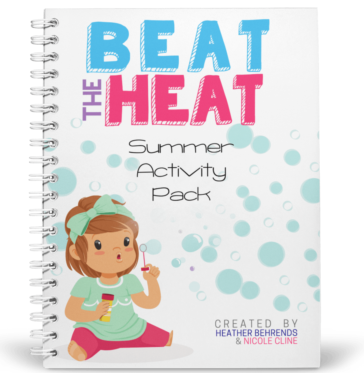 Beat The Heat Summer Activity Packet cover